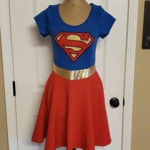 Adult Supergirl Dress DC Comics